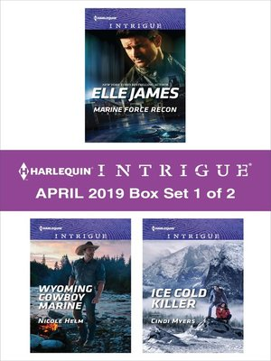 cover image of Harlequin Intrigue April 2019, Box Set 1 of 2